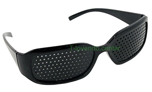 Generic YC-AMD2-151106-112 <7&1538*1> ole neulle Augentr Augentrainer Rasterbrille Loch Brille Entspannung Lochbrille Pinhole neu Rasterbrill
