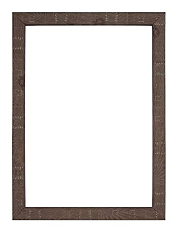 Shabby Chic DEEP Rustic Wood Grain Picture/Photo/Poster frame - Frame Colour Walnut 15