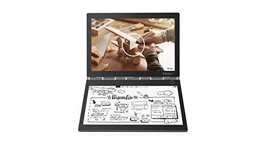Lenovo Yoga Book C930 27,4 cm (10,75 Zoll QHD IPS Touch) Convertible Tablet-PC (Intel m3-7Y30 Dual-Core, 4 GB RAM, 128 GB SSD, Wi-Fi, Windows 10 Home) grau