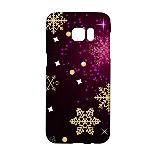Samsung Galaxy S7 Edge Delicate Wonderful Design Scenery Figure Exquisite Snowflake Cover Case for Samsung Galaxy S7 Edge Most Attractive Cute Sports Snowflake Series Phone Case