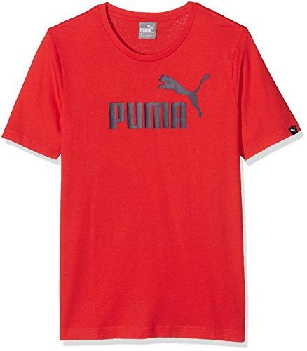 Puma No. 1Logo T-Shirt–Rot, XS