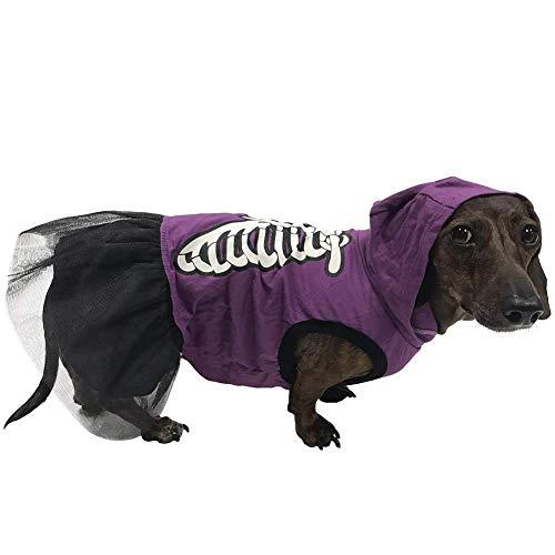 Für Kostüm Bffs - BFF Costumes Skelett-Kostüm für Kleine Hunde, Large