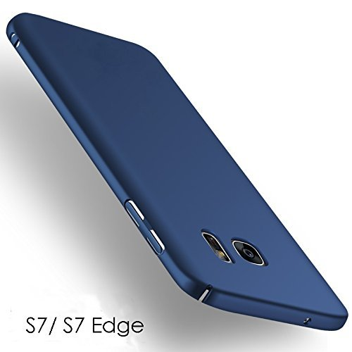 DeV 4 Cut Style Back Cover Case Samsung Galaxy S7 Edge - Blue