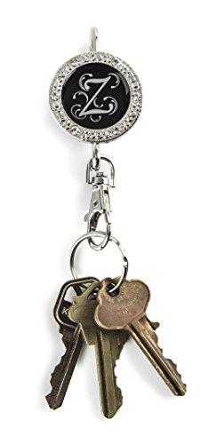Alexx Finder Schlüssel Geldbörse Bling Monogramm Z Finder Schlüssel Geldbörse (Z-finder)
