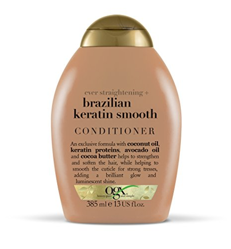 OGX Ever Straightening + Brazilian Keratin Conditioner 385 ml