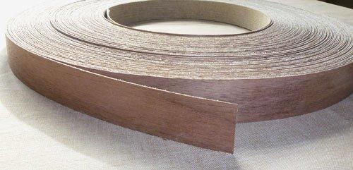 pre-glued-iron-on-walnut-wood-veneer-edging-tape-22mm-x-5metres-free-postage-fast-dispatch