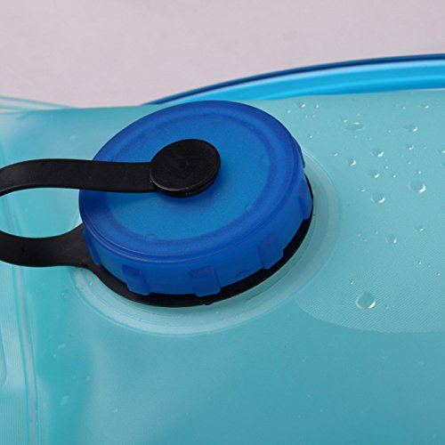 hotspeed Zaino Borsa Idratazione con tasca a acqua per ciclismo escursionismo alpinismo campeggio Escalation ecc Nero Arancione Blu Rosso, Orange 5L, Taglia unica Noir 5L