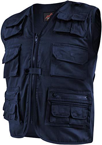 normani Outdoor Weste Safari mit vielen praktischen Taschen Farbe Navy Größe M