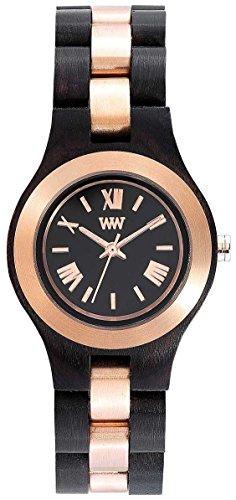 WEWOOD Criss ME Black Rose - Reloj de mujer