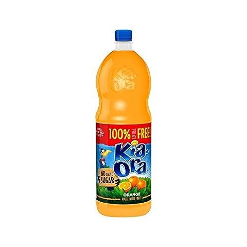Kia-Ora Orange Squash No Added Sugar 2L (Pack of 6)
