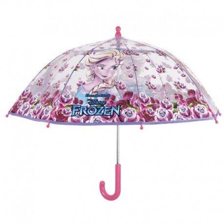 Perletti perletti5021242x 8cm Mädchen Dome Form PoE Frozen Sicherheit offen Winddicht Regenschirm Galleria Form