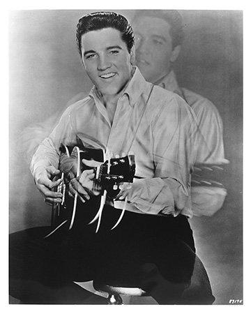 Elvis Presley 10x 8Classic Foto Film noch -