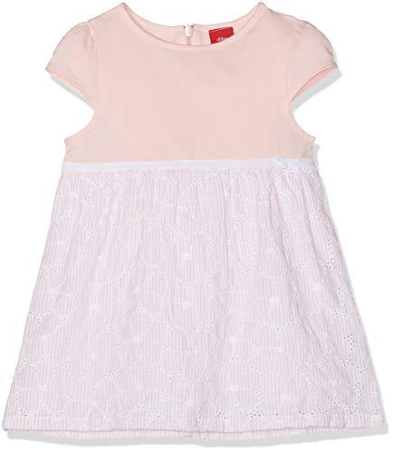 s.Oliver Baby-Mädchen 65.903.82.5341 Kleid, Rosa (Light Rose AOP 41a1), (Herstellergröße: 68) (Für Kleid Mädchen Stiefel)