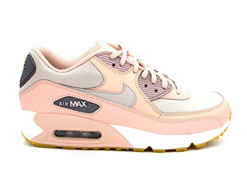 Nike Damen Wmns Air Max 90 Gymnastikschuhe, Beige (Particle Beige/Moon Particle/g 206), 40 EU (Nike Schuhe Frauen)