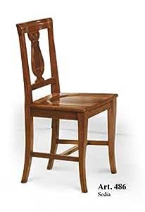 L\'Aquila Design Arredamenti Classico Set 2 sedie Legno per ...
