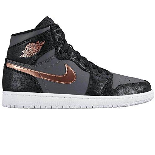 Nike Nike 332550 016 Air Jordan 1 Retro High Black|47,5