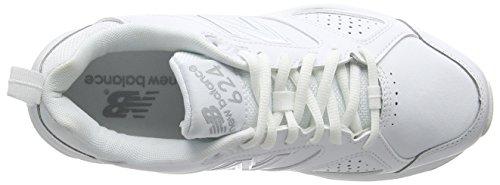 New Balance WX624WS4 - Scarpe Sportive Indoor donna Bianco (White)