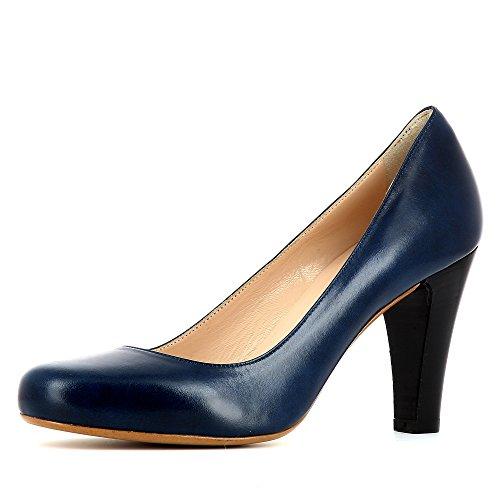 Evita Shoes  Maria,  Scarpe col tacco donna, blu (blu), 34 EU