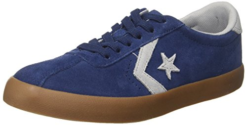 Converse Lifestyle Breakpoint Ox Suede, Scarpe da Fitness Unisex-Bambini, Blu (Navy/Wolf Grey/Gum 426), 35/36 EU