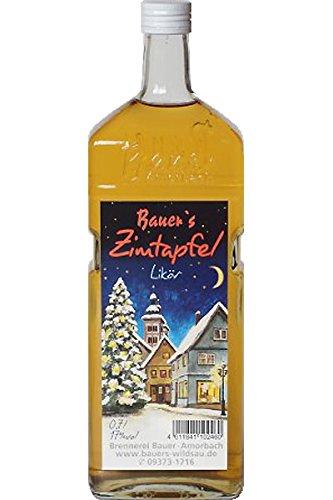 Bauer\'s Zimt Apfel Likör Zimtapfel 0,7 L