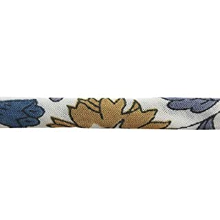 Liberty cord - D'anjo - Blue/Ochre x 1m