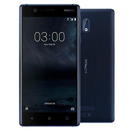 Nokia 3 Smartphone, 16 GB, Dual SIM, Blu [Italia]