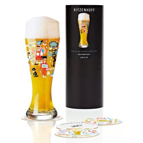 Ritzenhoff 1020174 Weizenbierglas Kunath F14