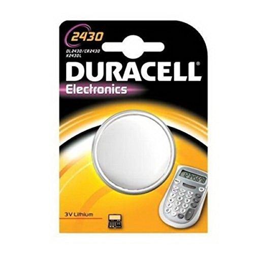 Duracell DL2430 3V Lithium Knopfzellenbatterie 1er Pack Duracell 3v Lithium Cell Battery