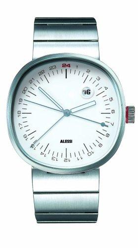 Alessi - AL 5011 - Montre Homme - Quartz - Analogique - Bracelet Acier Inoxydable Argent