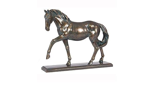 Skulptur von David Geenty Bronze Pferde-Statue EPSOM DANDY