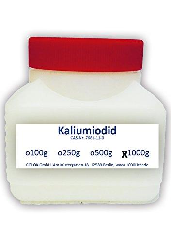 Kaliumiodid 1000g Kaliumjodid 1kg KI2 - für lugolsche Lösung Pharmaqualität