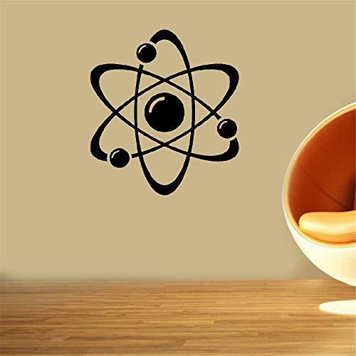 Wandaufkleber Kinderzimmer wandaufkleber 3d Wissenschafts-Atom-Design-Lehrer-Schulklassenzimmer Aufkleber Atom-design