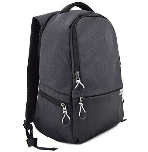 Rucksack Anti-Diebstahl Funktion | Damen Herren Studenten Backpack FRENTREE 15