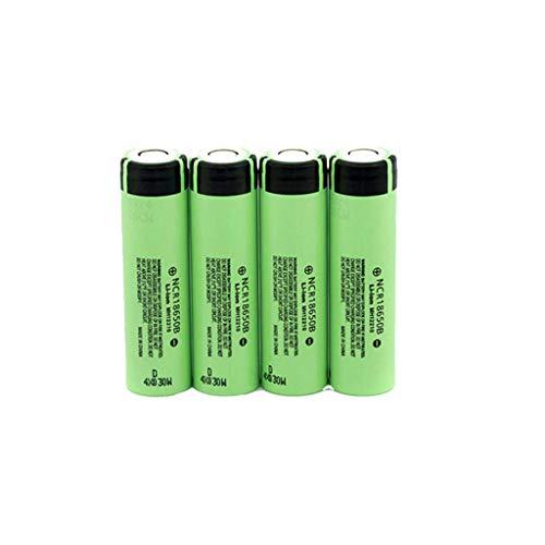 Yue668 4Pcs 3,7 V 3400 mAh Lithium Ionen Akku Batterie Batterien + Wired Charge Ersatz Zubehör (Aaa-batterien Lithium-ionen)