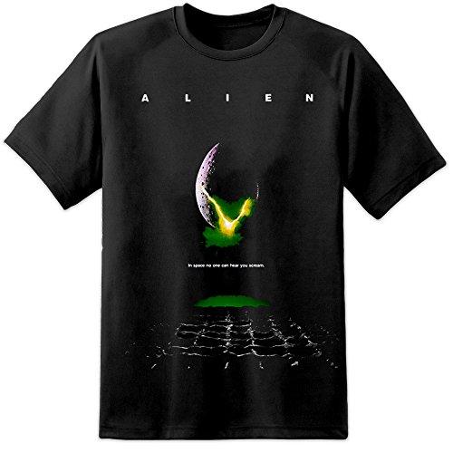 Alien Movie Poster T Shirt (S-3XL) - Ridley Scott Original Movie Weyland Yutani Prometheus James Cameron
