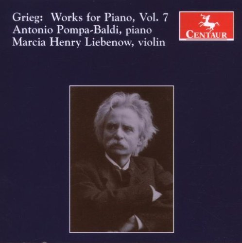 Grieg: Works for Piano, Vol. 7 by Antonio Pompa-Baldi (2007-10-30)