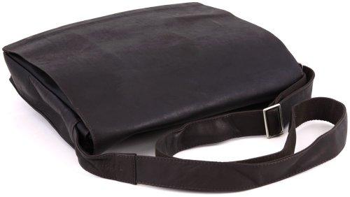 Harold's Campo Classic borsa a tracolla pelle 39 cm brown_brown, braun