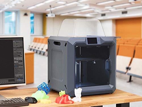 Monoprice 300 3D-Drucker - Schwarz mit großer beheizter Bauplatte (280 x 250 x 300 mm) Vollständig geschlossen, Touchscreen, unterstütztes Nivellieren, einfaches WLAN, 8 GB interner Speicher - 6
