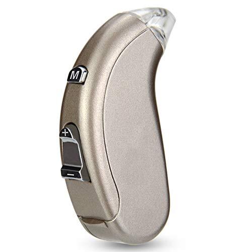 Hörgerät unsichtbar Hörverlust drahtlos unsichtbar Erwachsenen Hörgerät Batterie altmodisch Back-Ear-Hörgerät nach Hause tragbares Hörgerät ,mit digitaler Geräuschunterdrückung für älte Digitales Hörgerät