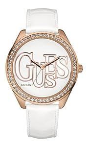 Guess W90031L1 - Reloj para mujeres, correa de cuero de Guess