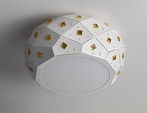 Moderne Simple Crystal Circulaire Sans électrodes de gradation Fer LED