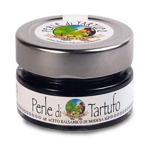 Sulpizio Tartufi - Perlas de Trufa Negra con Vinagre Balsámico - 50gr - Producto original en Italia