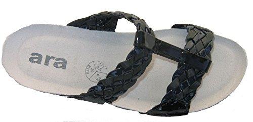ara - Pantofole Donna Grigio (Grau (Titan09))