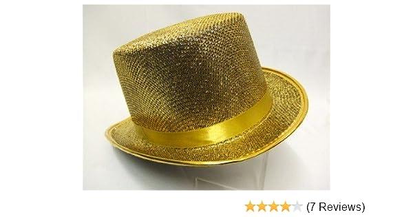 2522efec890 Top Hat ~ Gold ~ Cabaret ~ Moulin Rouge ~ Dance ~ Showgirl  Amazon.co.uk   Toys   Games