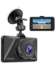 AKASO 1080P dash cam car driving camera dashboard recorder