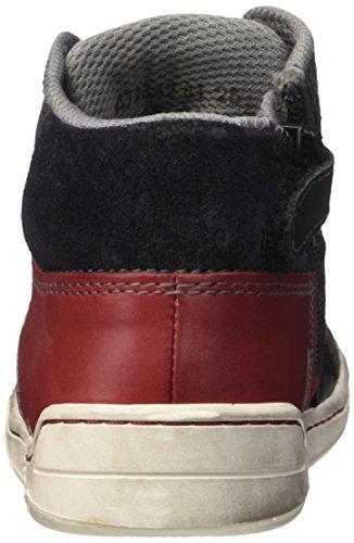 Kickers  Wincut,  Jungen Sneakers Noir (Noir/Bleu)