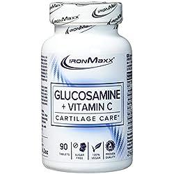 IronMaxx Glucosamin + Vitamin C, 90 Kapseln