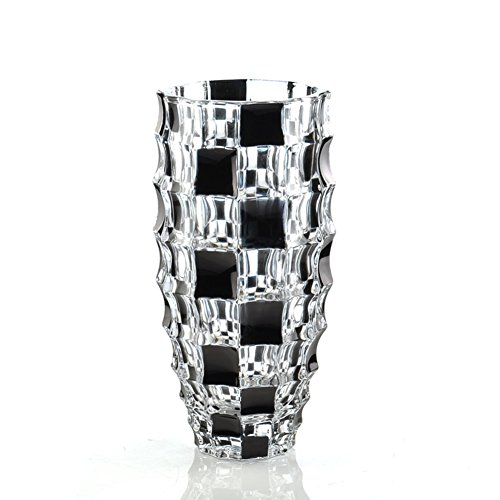 mostbeautifuvase Florero cristalino,Corte de Cristal Transparente Colorido Duro Europeo Simple Que USA...
