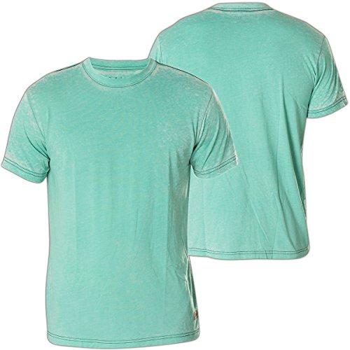 Affliction T-Shirt Standard Supply Türkis Türkis