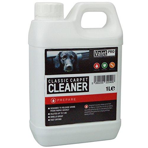 Preisvergleich Produktbild ValetPRO 5060220320406 Classic Carpet Cleaner Teppich und Polsterreiniger, 1 L